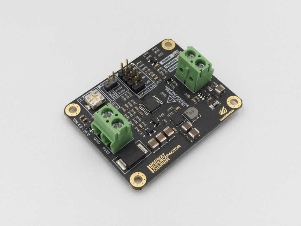 Beast Devices Meerkat Supercapacitor Charger Side View