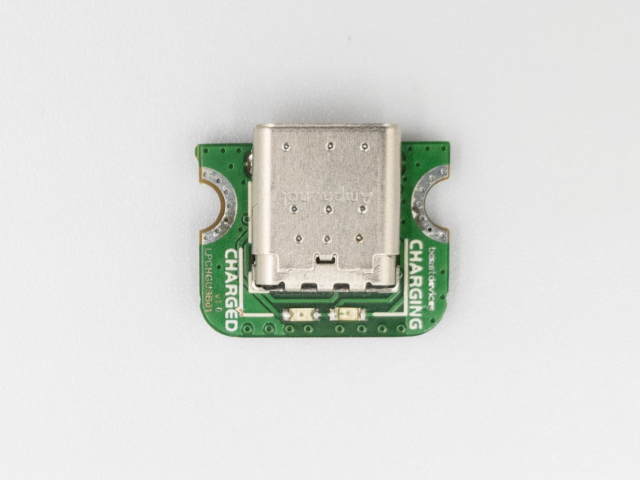 Beast Devices Ant USB-C LiPo charger top view.