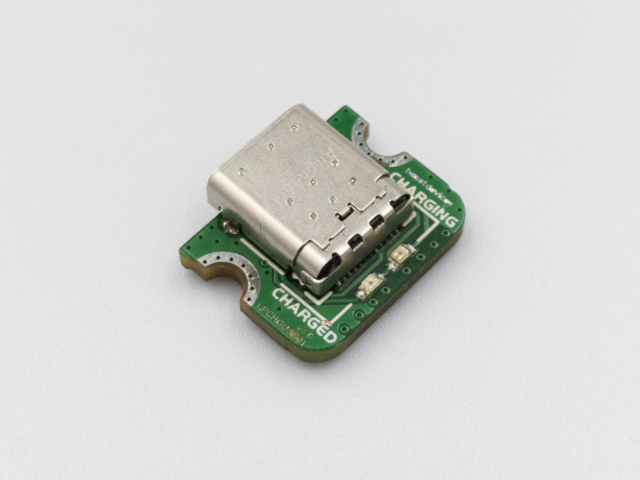 Beast Devices Ant USB-C LiPo charger side view.