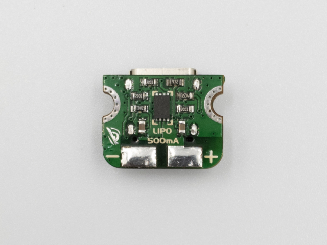 Beast Devices Ant USB-C LiPo charger component side.