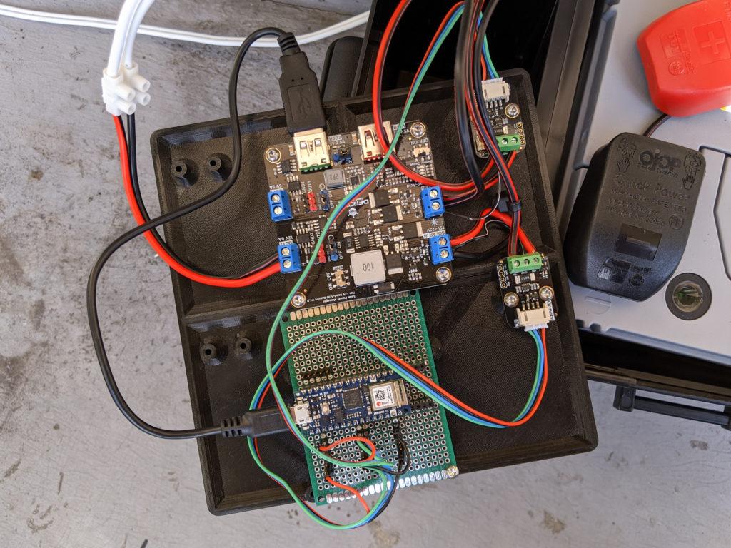 DFRobot Solar Power Manager and Arduino Nano 33 IoT