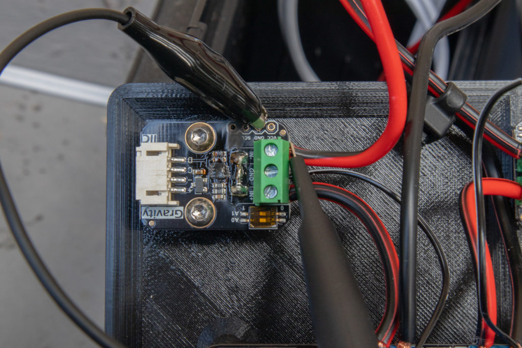Measuring transients on Gravity: I2C Digital Wattmeter