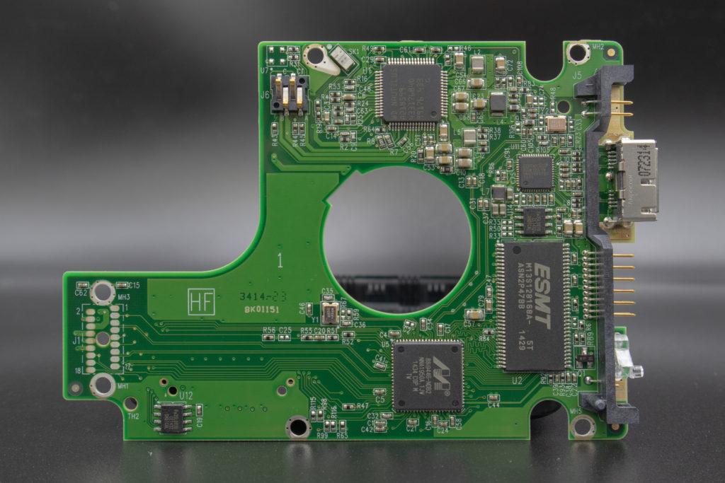 Western Digital My Passport HDD PCB