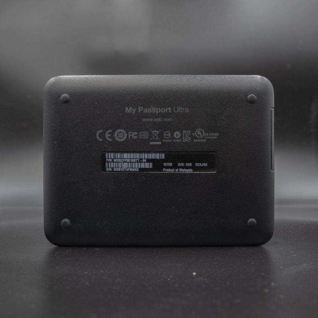 Western Digital My Passport Ultra 1TD USB Hard Drive